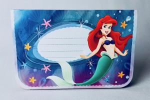 """Kartki urodzinowe - Karnet 3D """"Mała Syrenka Ariel"""""""