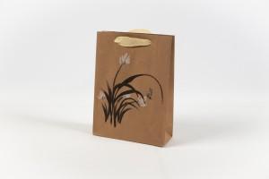 Torebki na prezenty - Torebka papierowa ze wzorem / H1904199 S