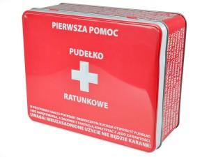"""Puszki na skarby - Puszka Pierwsza Pomoc """"Pudełko Ratunkowe"""""""