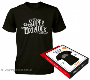 "Koszulki - Koszulka ""Super dziadek"""