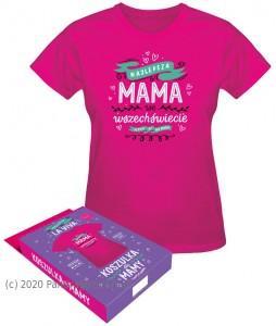 """Koszulki - Koszulka """"Najlepsza mama we wszechświecie"""""""