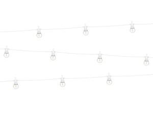 Oświetlenie dekoracyjne LED - Lampki dekoracyjne LED, białe / 5 m
