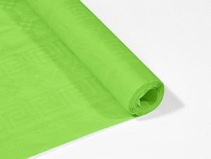 Obrusy jednokolorowe papierowe - Obrus papierowy w rolce, zielony / 1,18x6 m