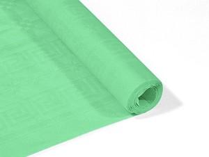 Obrusy jednokolorowe papierowe - Obrus papierowy w rolce, miętowy / 1,18x6 m