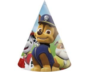 """Czapeczki - Zestaw czapeczek urodzinowych """"Psi Patrol"""""""