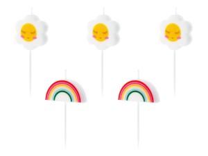 Świeczki pikery - Świeczki urodzinowe Stokrotki