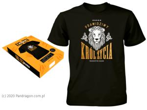 "Koszulki - Koszulka ""Król życia""/ rozm. M"