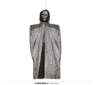 """Dekoracje na Halloween Straszydła - Ozdoba na Halloween """"Kościotrup"""" z dźwiękiem i podświetleniem / 195 cm"""