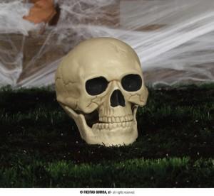 """Dekoracje na Halloween do postawienia - Ozdoba na Halloween """"Czaszka"""" plastikowa"""
