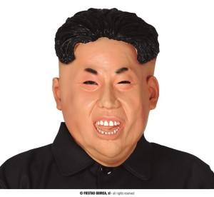 Maski Postacie - Maska koreańskiego prezydenta