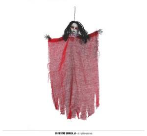 """Dekoracje na Halloween Straszydła - Ozdoba na Halloween """"Nawiedzona laleczka"""" / 60 cm"""
