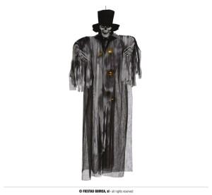 """Dekoracje na Halloween Straszydła - Ozdoba na Halloween """"Szkielet Pan Młody"""" podświetlany / 180 cm"""