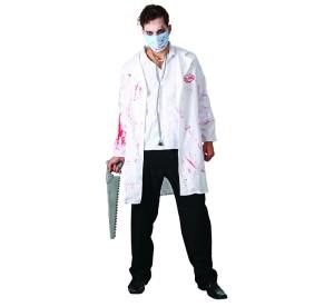 """Stroje dla mężczyzn - Strój na Halloween """"Szalony Doktor"""""""