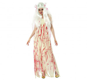"""Stroje dla kobiet - Strój na Halloween """"Krwawa Panna Młoda"""" / rozm.38"""