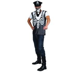 """Stroje dla mężczyzn - Strój na Halloween """"Szkielet Gangstera"""""""
