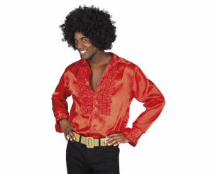 Stroje dla mężczyzn - Męska koszula czerwona / rozm. M