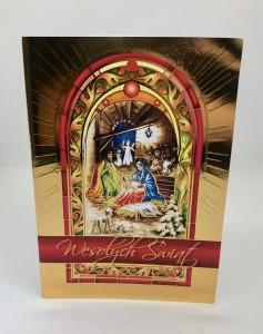 Kartki Świąteczne - Kartka świąteczna na Boże Narodzenie / CH-1604