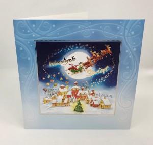 Kartki Świąteczne - Kartka świąteczna na Boże Narodzenie / CH-1510