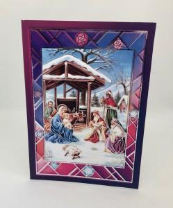 Kartki Świąteczne - Kartka świąteczna na Boże Narodzenie / CH-1605