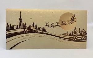 Kartki Świąteczne - Kartka świąteczna na Boże Narodzenie / CH-13019