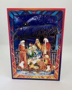 Kartki Świąteczne - Kartka świąteczna na Boże Narodzenie / CH-1607