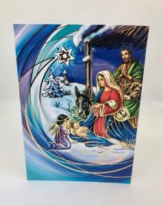 Kartki Świąteczne - Kartka świąteczna na Boże Narodzenie / CH-1601
