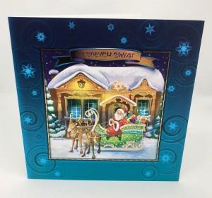 Kartki Świąteczne - Kartka świąteczna na Boże Narodzenie / CH-1507