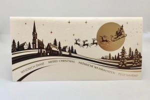 Kartki Świąteczne - Kartka świąteczna na Boże Narodzenie / CH-1319