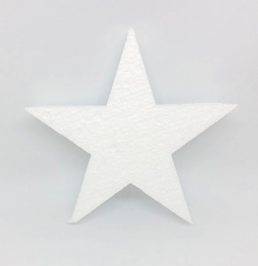 Gwiazdki styropianowe - Gwiazdki styropianowe / 14x14 cm