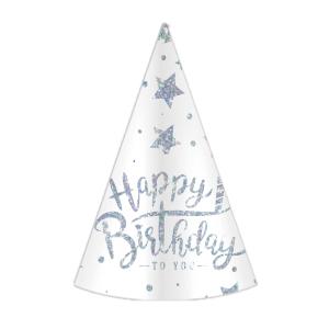 """Czapeczki - Czapeczki """"Happy Birthday"""" / 21 cm"""