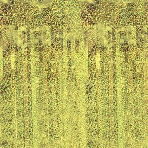 Kurtyny foliowe - Kurtyna imprezowa złota holograficzna / 100x200 cm