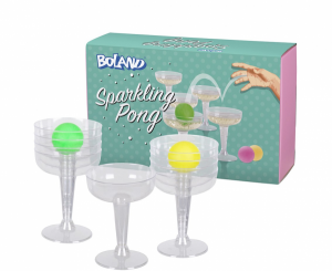 "Gry alkoholowe - Gra alkoholowa ""Sparkling Pong"""
