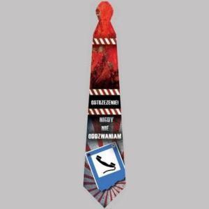 """Krawaty - Krawat imprezowy """"nigdy nie oddzwaniam"""""""