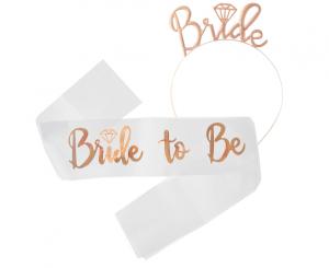 """Szarfy - Zestaw na Wieczór Panieński """"Bride to Be"""""""