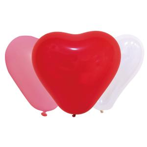 """Balony lateksowe o nietypowych kształtach - Mix balonów lateksowych 10"""" """"Serca"""""""