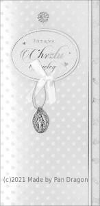 """Kartki i pamiątki na Chrzest Święty - Karnet """"Pamiątka Chrztu Świętego"""" / HM-100-615"""