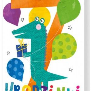 Kartki z życzeniami na 7 urodziny