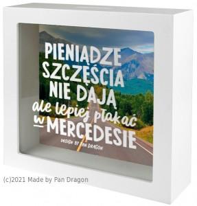 "Skarbonki różne - Skarbonka ""Mercedes"" / Home"