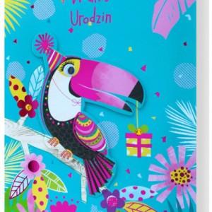 Kartki z życzeniami na urodziny dziecka - uniwersalne