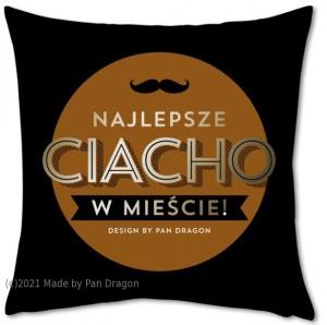 """Poduszki dla dorosłych - Poduszka """"Najlepsze Ciacho w mieście"""""""