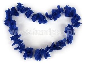 Naszyjniki - Naszyjnik hawajski - niebieski