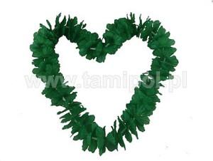 Naszyjniki - Naszyjnik hawajski - zielone liście