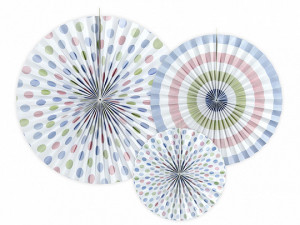 Rozety dekoracyjne - Rozety dekoracyjne, mix