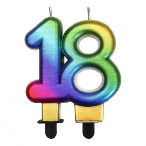 Świeczki na 18 urodziny