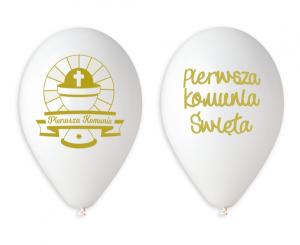 Balony komunijne - Balony Premium Pierwsza Komunia