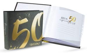 Albumy do zdjęć - Foto album na 50 urodziny