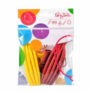Balony lateksowe o nietypowych kształtach - Balony piłki, mix kolorów