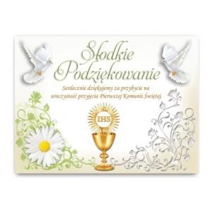 Bileciki, karteczki i naklejki - Etykietki / naklejki na ciasto / EC903