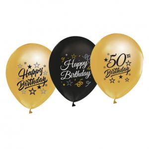 Balony lateskowe na 50 urodziny
