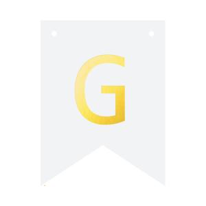 Literki do girlandy DIY - Baner DIY - litera G